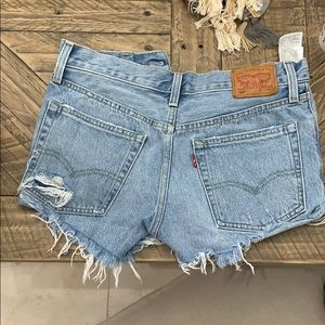 Women's Levi denim shorts